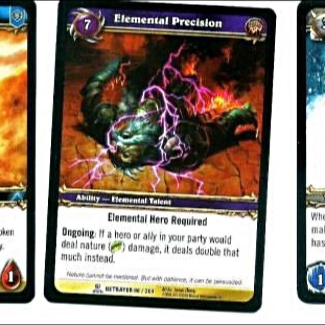 World of Warcraft TVG Singles - Elemental Precision