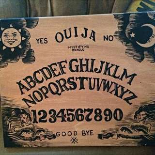 Ouija Board Painting