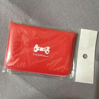 全新 韓國皮革卡套 可放置12張卡