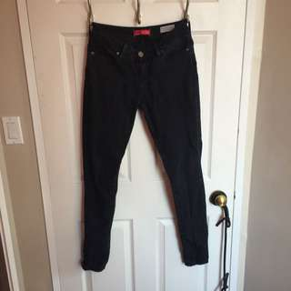 Guess Medium Rise Curvy Skinny Jeans