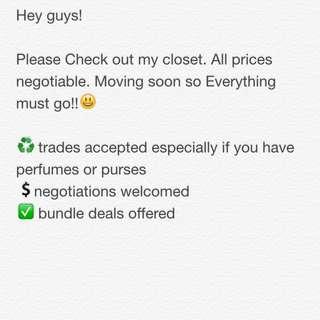 Trades!