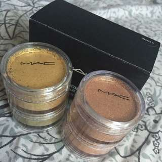 MAC Crushed Metal Pigments - Stacked 2!