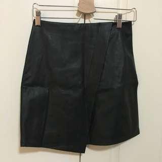 Forever New Leather Skirt