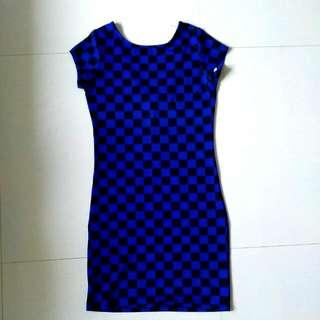 Square Bodycon Dress