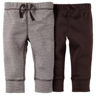 [Newborn] Carter's Essentials 2 Pack Pants
