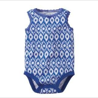 *SALE* [3 mths] Printed Sleeveless Bodysuit