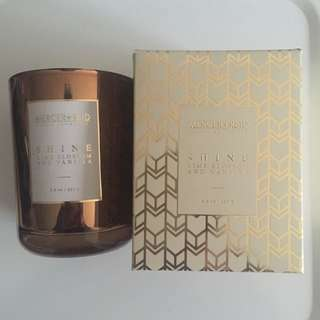 Mercer+Reid Luxury Candle, Lime Blossom and Vanilla