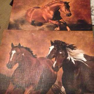Brown Horse Paintings