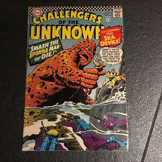 silver Age Challengers Of The Unknown #51