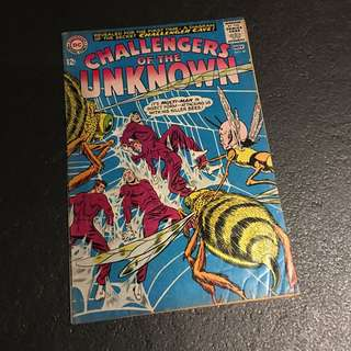 Silver Age Challengers Of The Unknown #40