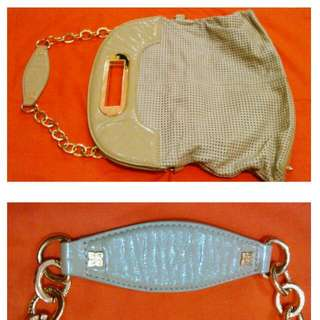 BCBG Gold Chain Bag