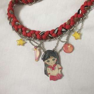 Sailor Moon Necklace - Sailor Mars