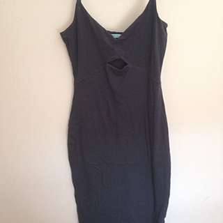 Kookai Dark Grey Dress Size 1