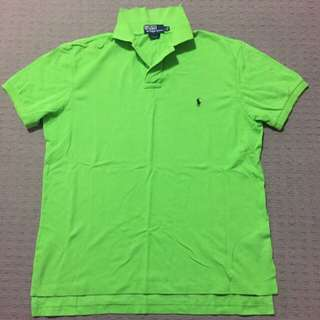 Ralph Lauren Polo Shirt Custom Fit Size Large