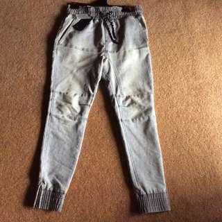 Men's drop crutch pants