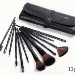 Makeup Brush Mac 12pcs