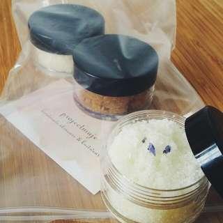 Handmade Organic Scrub Trial Pack