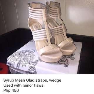 Syrup Gladiator Wedge Sandals
