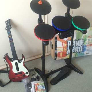 Band Hero Bundle For PlayStation3