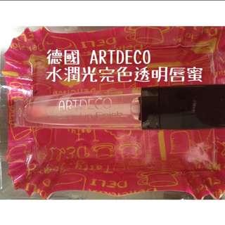 9.5新,德國ARTDECO 水潤光完色透明唇蜜