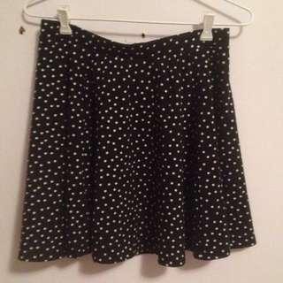 Cute Spotty Skater Skirt