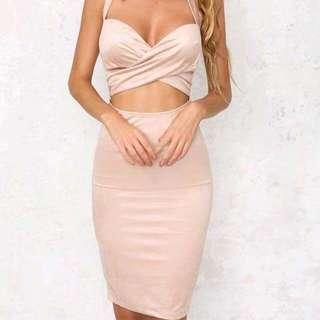 Hello Molly: Pink Velvet Dress