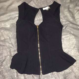 Temt Peplum Top