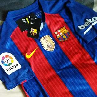 (3RD RESERVED) BARCELONA HOME JERSEY 16/17 VAPOR AEROSWIFT TECH PLAYER VERSION_SIZE: (S)