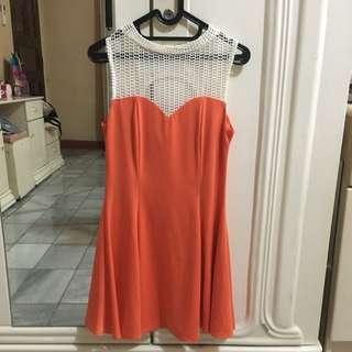 Goods Dept Orange Athena Dress