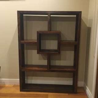 Hard Wood Feature Shelf