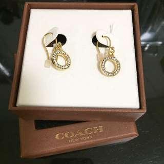 BRAND NEW Coach Earrings