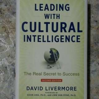 BU8641 Leading with Cultural Intelligence-The Real Secret to Success