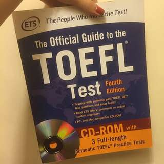 TOEFL iBT Official Guide 新托福官方書籍