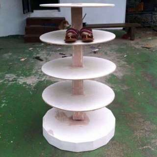 Customized Revolving Shoe Rack