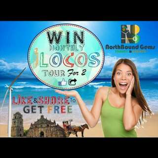 Free ILOCOS TOUR for 2 Persons