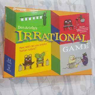irrational card game Board Games Family Friends