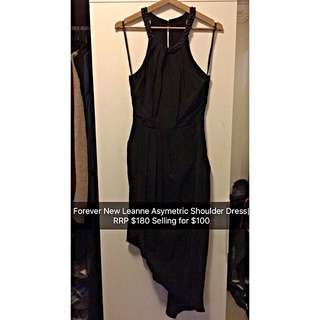 Forever New Black Maxi Formal Dress Size 8 S