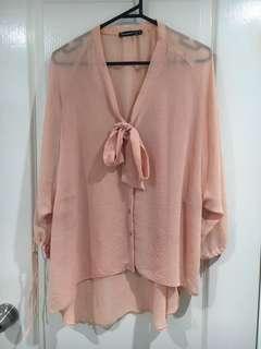Peach Shirt/Top