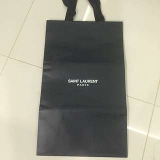 Big Saint Laurent Paper Bag