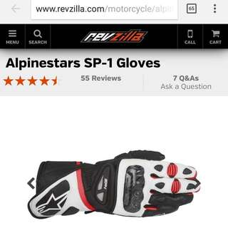 Alpinestars SP-1 Gloves