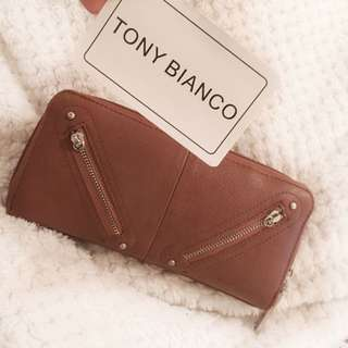 Tony Bianca Brown Leather Wallet