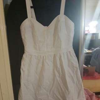 Dotti White Dress  AUD7