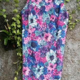Floral Body Fit Dress