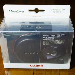 Canon G7x Leather Pouch Original