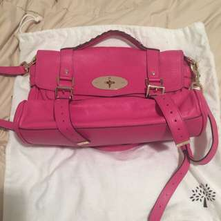 Authentic Mulberry Alexa Pink