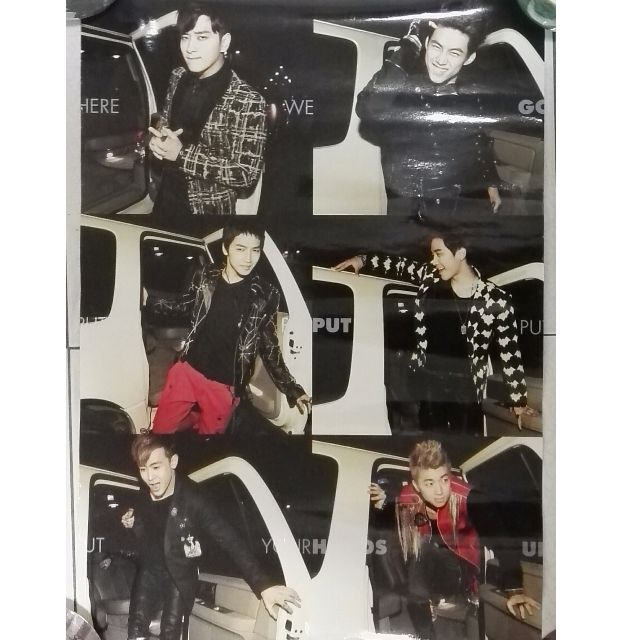 KPOP 2PM Poster