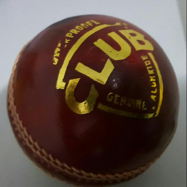 4 piece geniune leather Cricket Ball