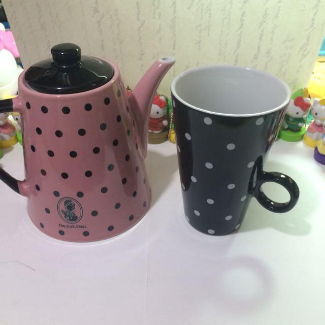 華麗午茶茶壺/杯子