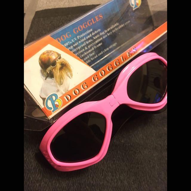 狗狗太陽眼鏡 藍/粉