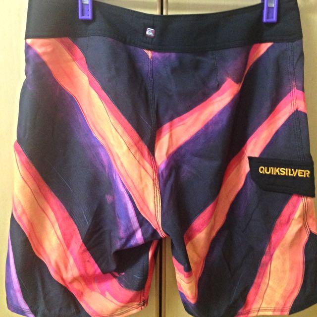 全新正品 Quiksilver 衝浪褲 海灘褲